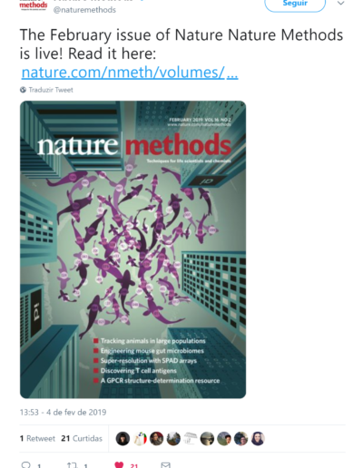 Nature Methods cover for Ferrero et al. 2019